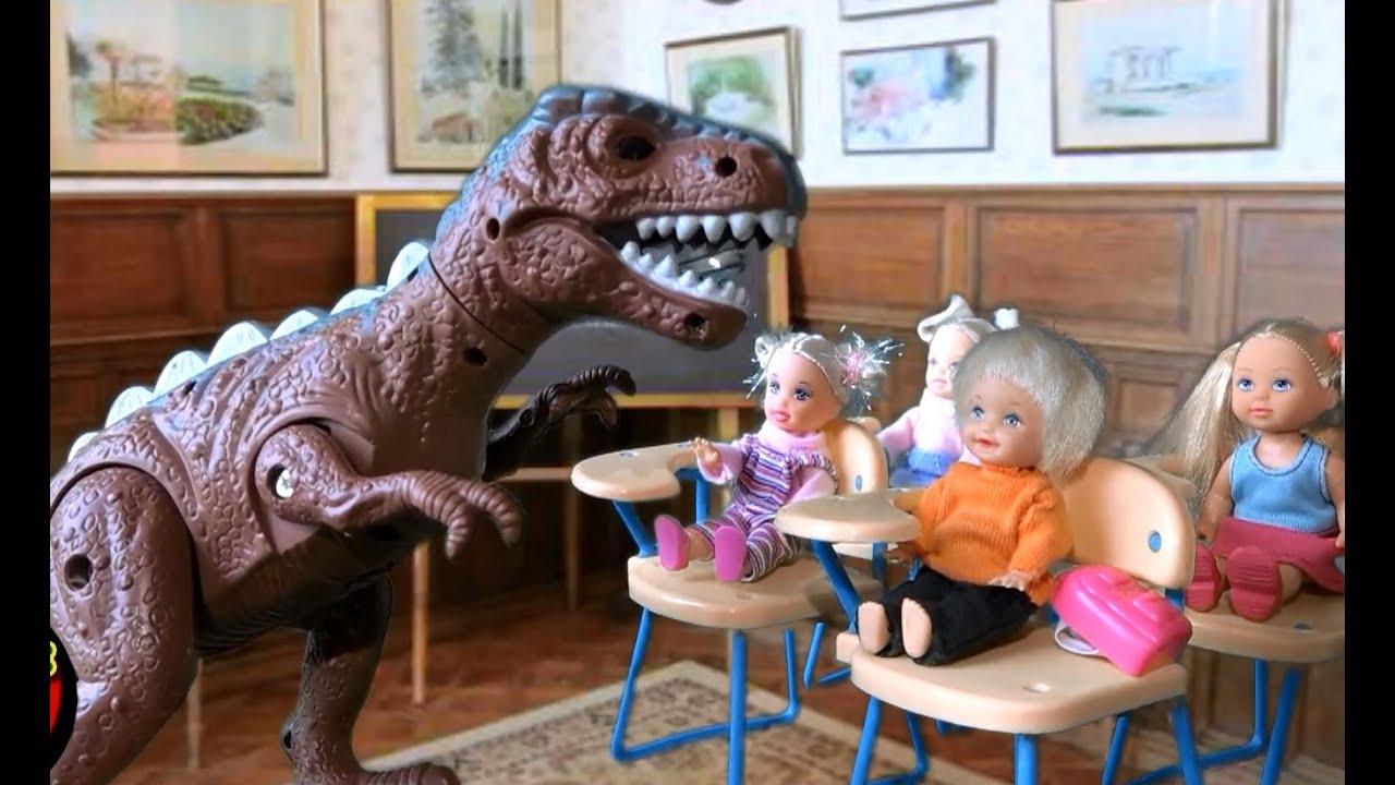 Сериал Барби дети цветы жизни Динозавр Учитель в Школе ...