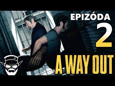 PROFESIONÁLNA SPOLUPRÁCA ! - A Way Out /w Tomas2886Cz / 1080p 60fps / CZ/SK Lets Play / # 2
