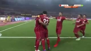 Красивый гол Халка в Чемпионате Китая(, 2016-09-10T09:59:37.000Z)