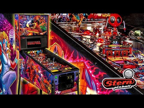 All Pro Trailers >> Stern Pinball Deadpool Pro / Sizzle Trailer - YouTube