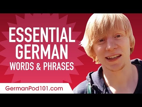 Essential German Words and Phrases to Sound Like a Native