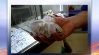 В Киеве иностранец ограбил ювелирный магазин(, 2014-04-25T08:21:40.000Z)