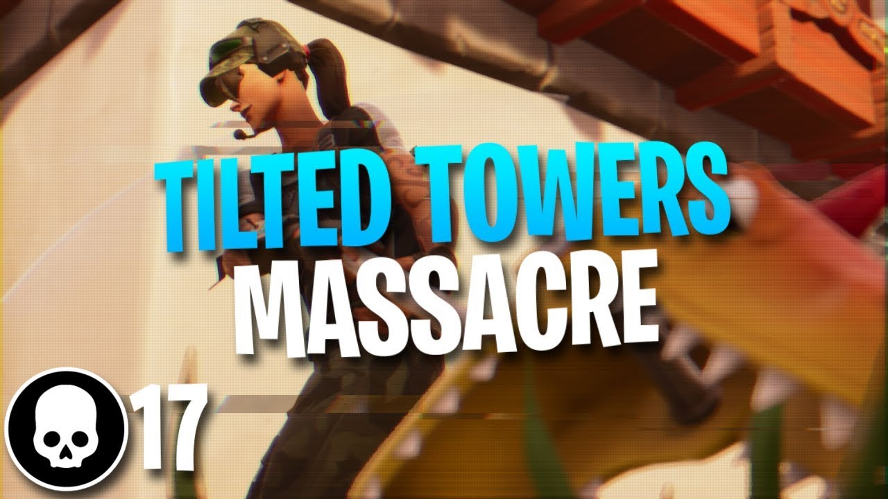 Dominating Tilted Towers 17 Kill Solo Gameplay Fortnite Battle