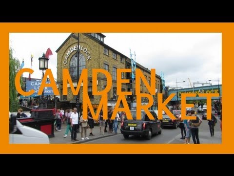Places To Visit in London: Camden Market