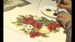 Pintura e Decupagem em tecido