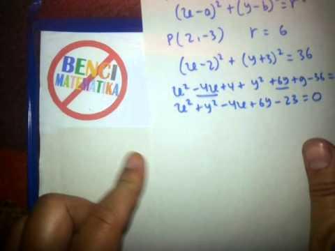 Cara Cepat Belajar Persamaan LingkaranPart 1