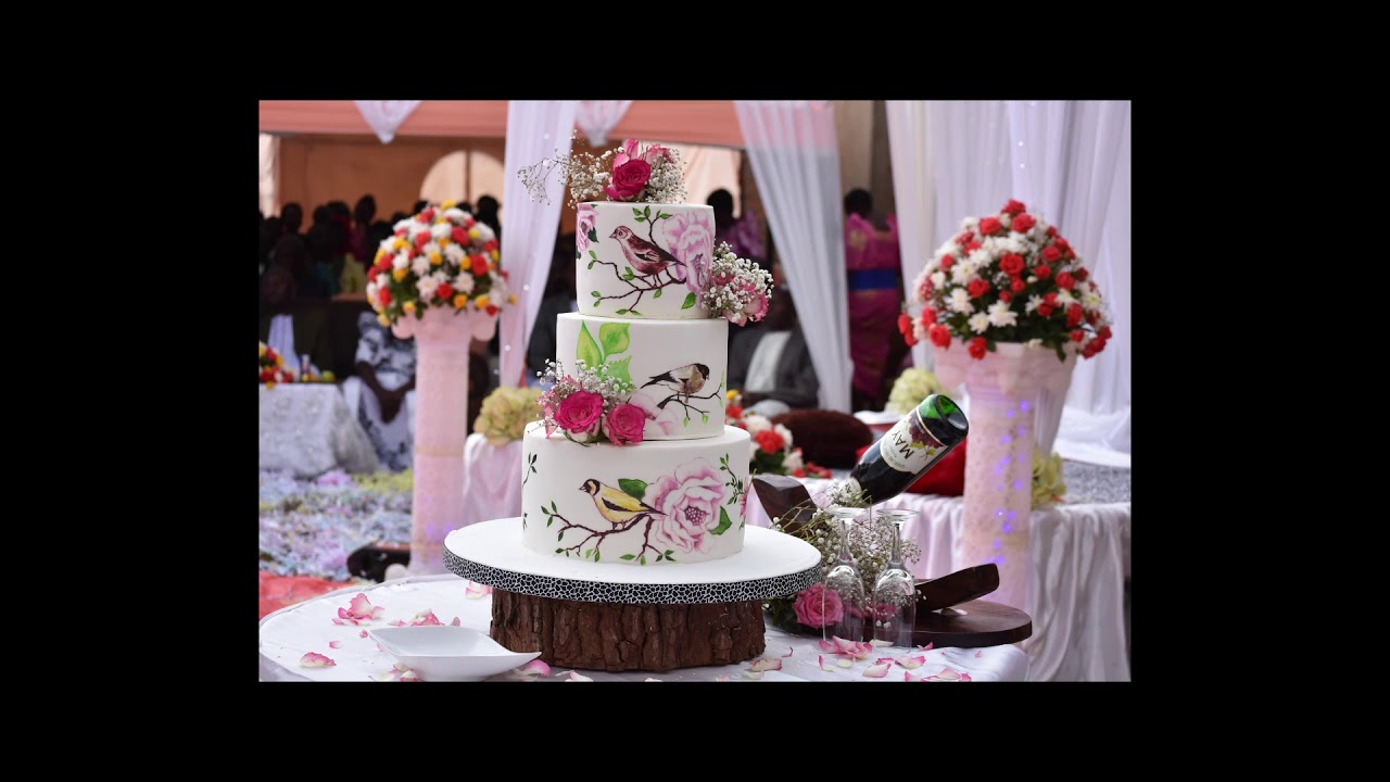 African Traditional Wedding Cakes Youtube