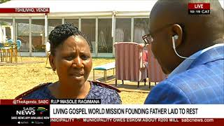 R.I.P Masole Ragimana | Living Gospel World Mission founding father laid to rest