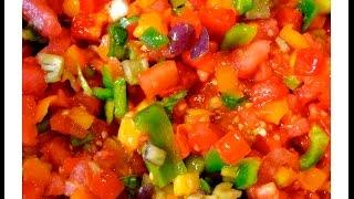 Watermelon Lime Basil Salsa - Deliciously Organic And Farm Fresh!