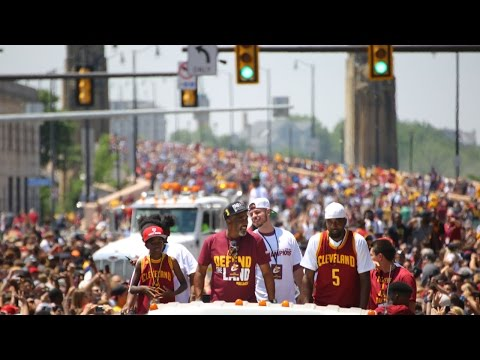 1.3 Million Person Party in Cleveland