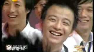 湖南卫视新节目【天天向上】之郭老师美国留学经历