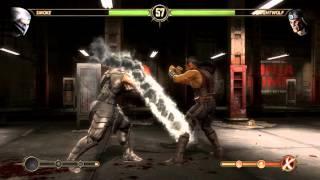 Mortal Kombat Komplete Edition PC gameplay Smoke vs Nightwolf