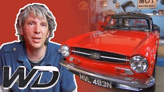 Triumph TR6: How To Convert A Vintage Engine To Run On Unleaded Fuel | Wheeler Dealers