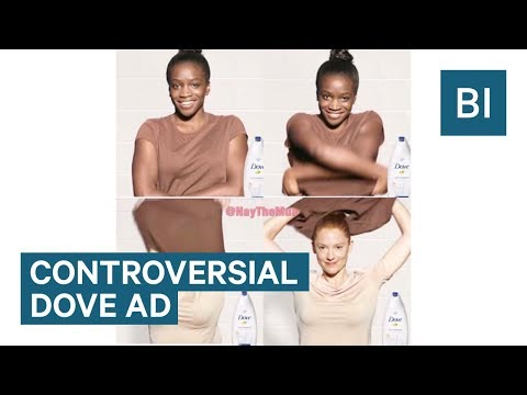 Thumbnail: People are accusing this Dove ad of being racist