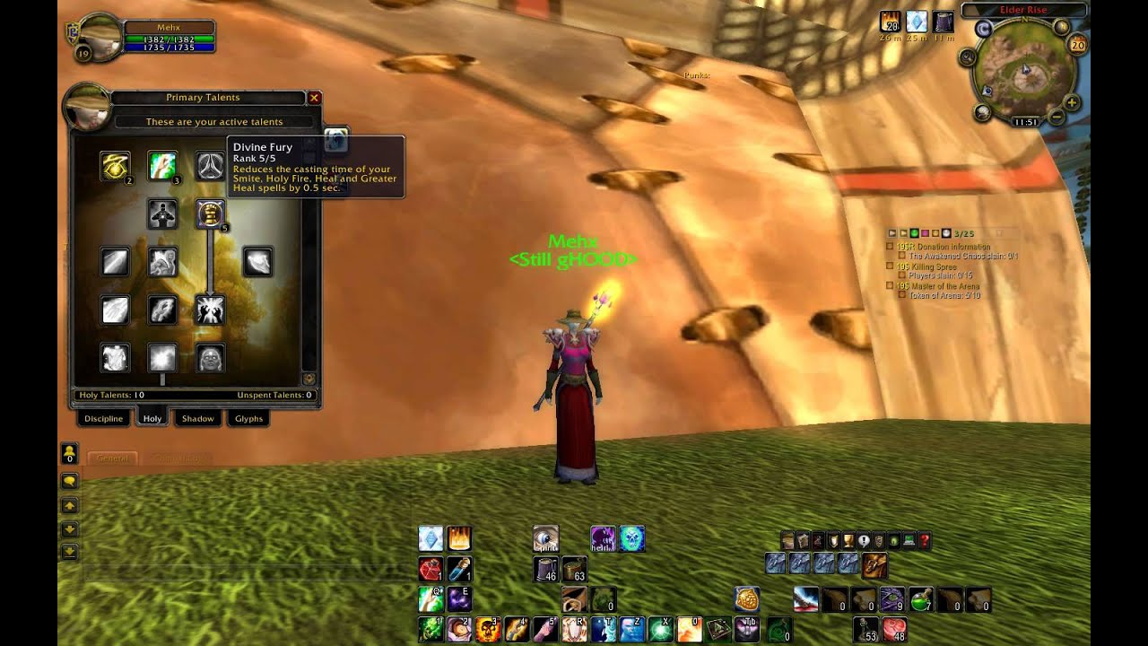 Wow 19 twink priest wotlk