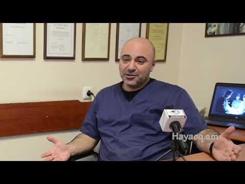 Hayacq.am-«Նաիրի» ԲԿ-ի օնկոգինեկոլոգիական ծառայության ղեկավար Արտեմ Ստեփանյան