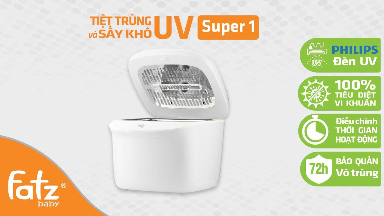Máy tiệt trùng sấy khô bình sữa bằng tia UV – Super 1 – FB4700MX | FATZBABY