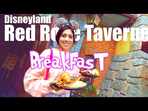 New and Delicious Breakfast at the Red Rose Taverne | Disneyland Resort