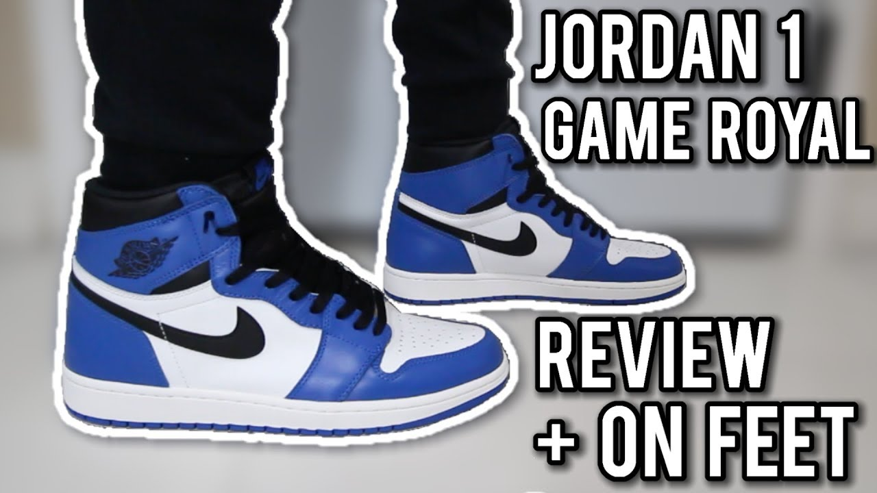Air Jordan 1 Game Royal Review + On Feet | Don't Buy These Until You Watch  This!!!