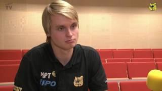Tiikerit - Liiga-Riento su 22.11.2015 - Aftergame Tommi Tiilikainen