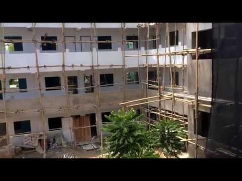 Apartment Building Construction in Chiang Mai, Thailand