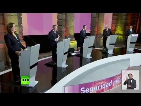 Primer debate presidencial en México 2018