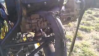 Moteur Rotax 503 bi-carburateurs, double allumage.
