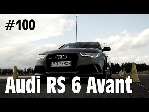 2014 Audi RS6 Avant 4.0 TFSI V8 560 KM - #100 Jazdy Próbne