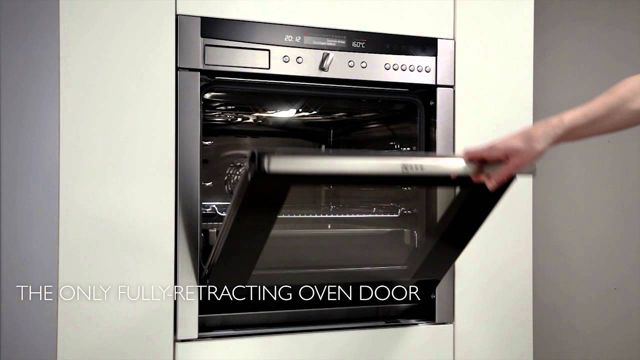 neff slide hide ovens 2013 youtube. Black Bedroom Furniture Sets. Home Design Ideas