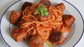 Spaghetti & Meatballs in 1 Minute !