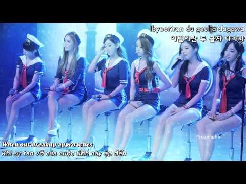 Vietsub + Engsub + Kara  T ARA – Why We Separated