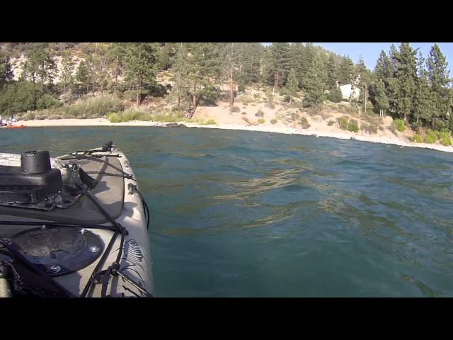 GoPro Ascend FS12 on Lake Tahoe Cave Rock taking some nice swells