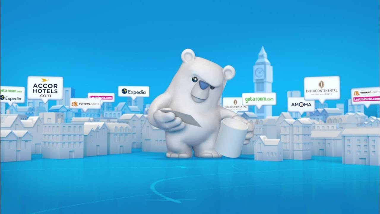 HotelsCombined, Compare with the Bear TV Creative - YouTube