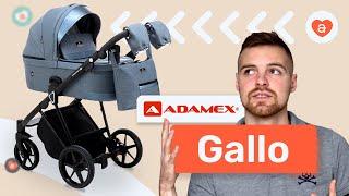 Детская коляска Adamex Gallo. Видео обзор коляска Адамекс Галло