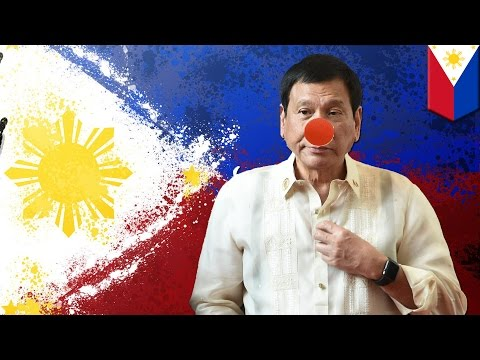 Philippines President Duterte is nuts: Duterte needs to put a sock in it already