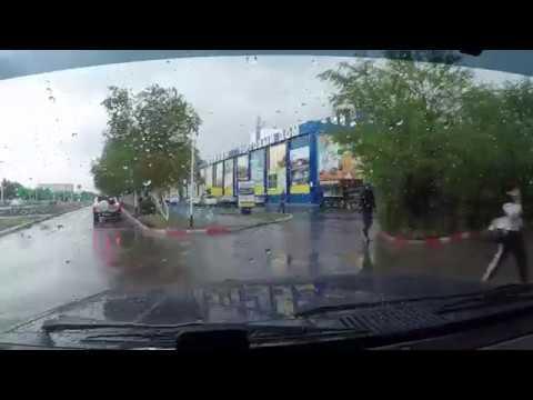 Дождь в Лисаковске 12.08.2019