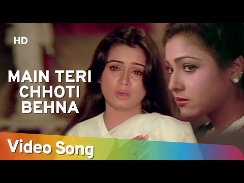 Main Teri Chhoti Behana - Padmini Kolhapure - Tini Munim - Souten - Old Hindi Songs - Usha Khanna