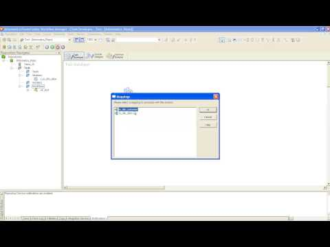 Creating a Mapping, Session, Workflow using Informatica Powercenter 8.6.1