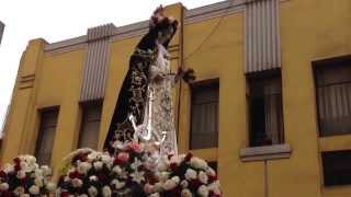 Procesión de Santa Rosa de Lima 30 Agosto 2013