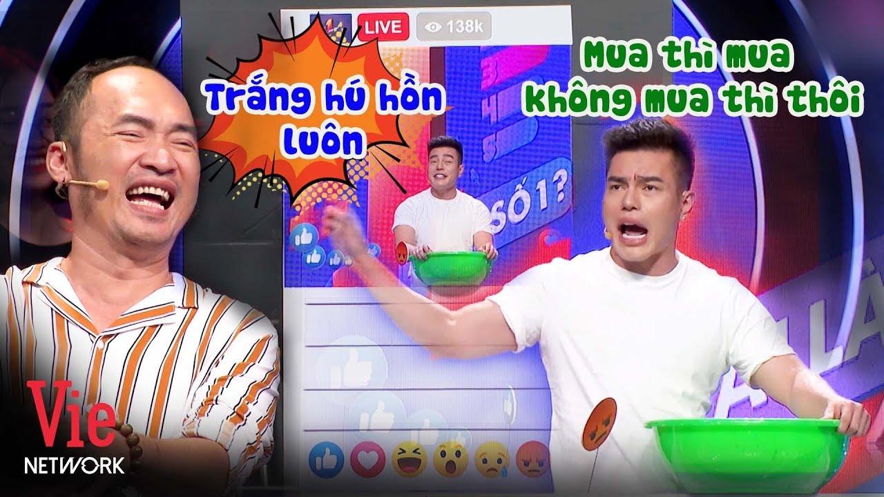 Cười rớt hàm với màn livestream bán kem trộn KHẨU NGHIỆP của Lê Dương Bảo Lâm  | Ai Là Số 1