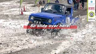 Suzuki Gypsy Snowheeling | Snow Slide | Snow Drive | Off-Road