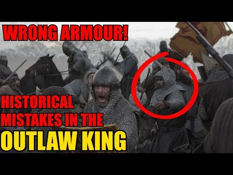 OUTLAW KING - WRONG ARMOUR BUT RIGHT WEAPONS? Historical Analysis