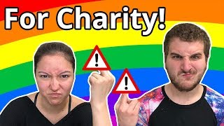 Tori And I Flip Off Jerks For Charity!