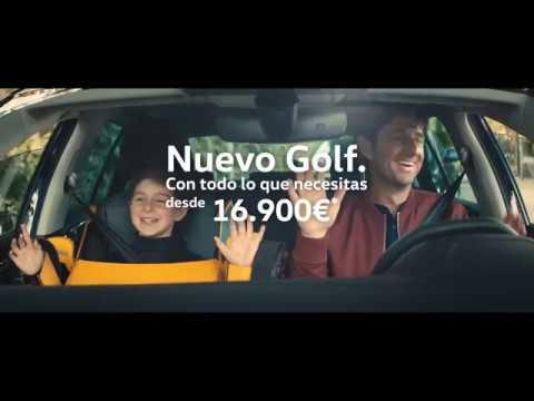 Anuncio Volkswagen Golf 2017 Transformers
