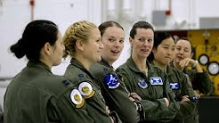 All Female B-2 Combat Pilots at Whiteman AFB: International Women's Day