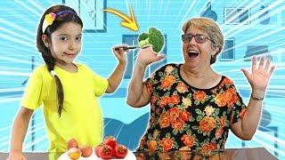 ANNY BRINCANDO DE SER MÃE DA SUA VOVÓ E DIZENDO NÃO PRA QUASE TUDO - ANNY E EU