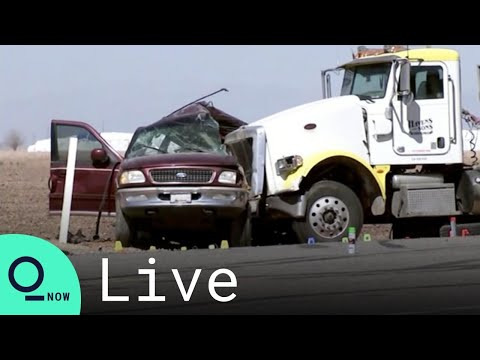 LIVE: California Highway Patrol Gives Update on Fatal SUV Crash That Killed 13