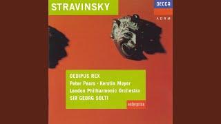 Stravinsky: Oedipus Rex - English narration - Actus secundus - A messenger announces that King...