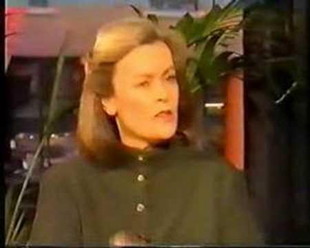 Fiona Spence on Richard & Judy, 1990