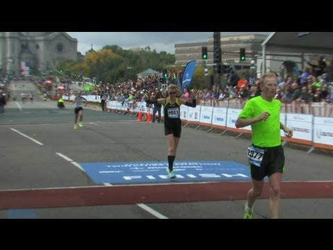 Tollefsons Tackle Twin Cities: 2013 Medtronic Twin Cities Marathon